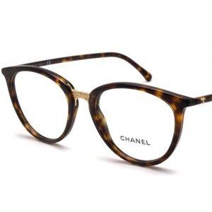 CH3370 Chanel Tortoise Glasses 48-19 Rx-4.75